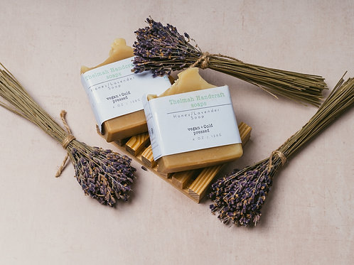Handmade Honey and Lavenderbar  soap