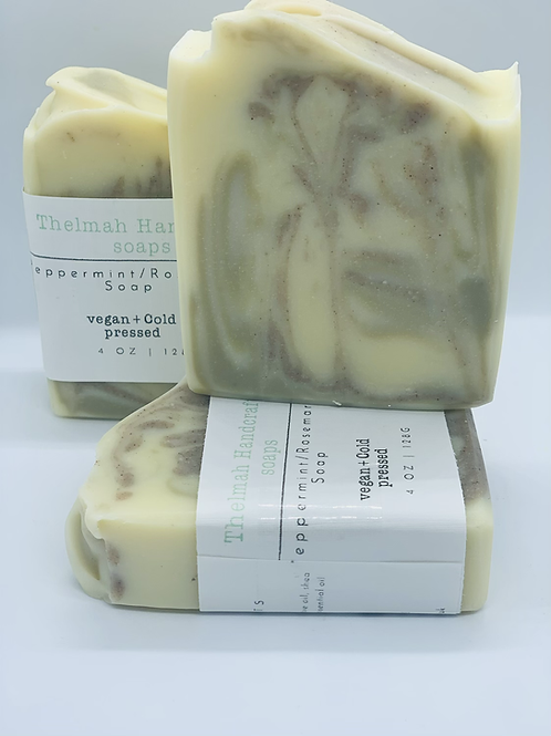 Peppermint & Rosemary bar soap