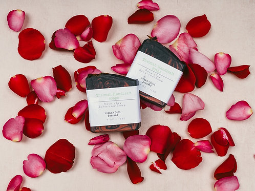 Rose Clay and Charcoal Bar Soap