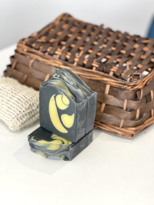 Charcoal and Tea tree bar soap
