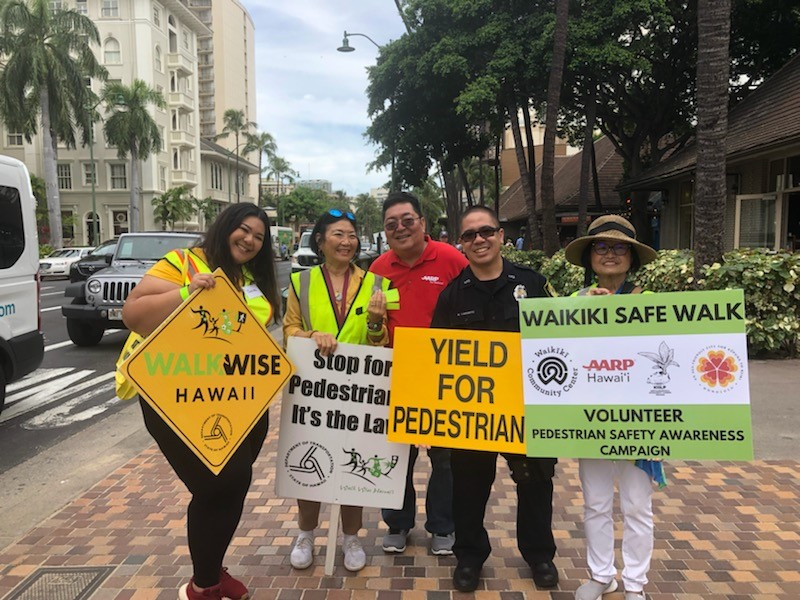 PedesAwareness Waikiki Safe Walk 9.30.20