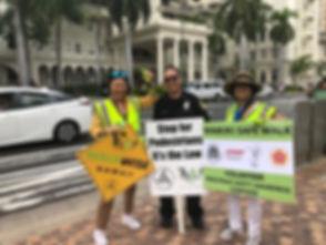 Sen M, Merle, HPD Waikiki Safe Walk 9.30