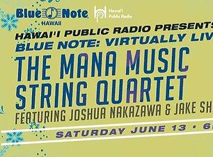Mana Music String Quartet featuring Jake