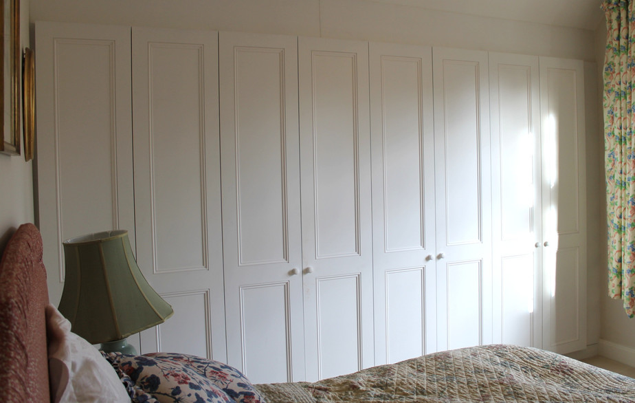 Panelled wardrobes