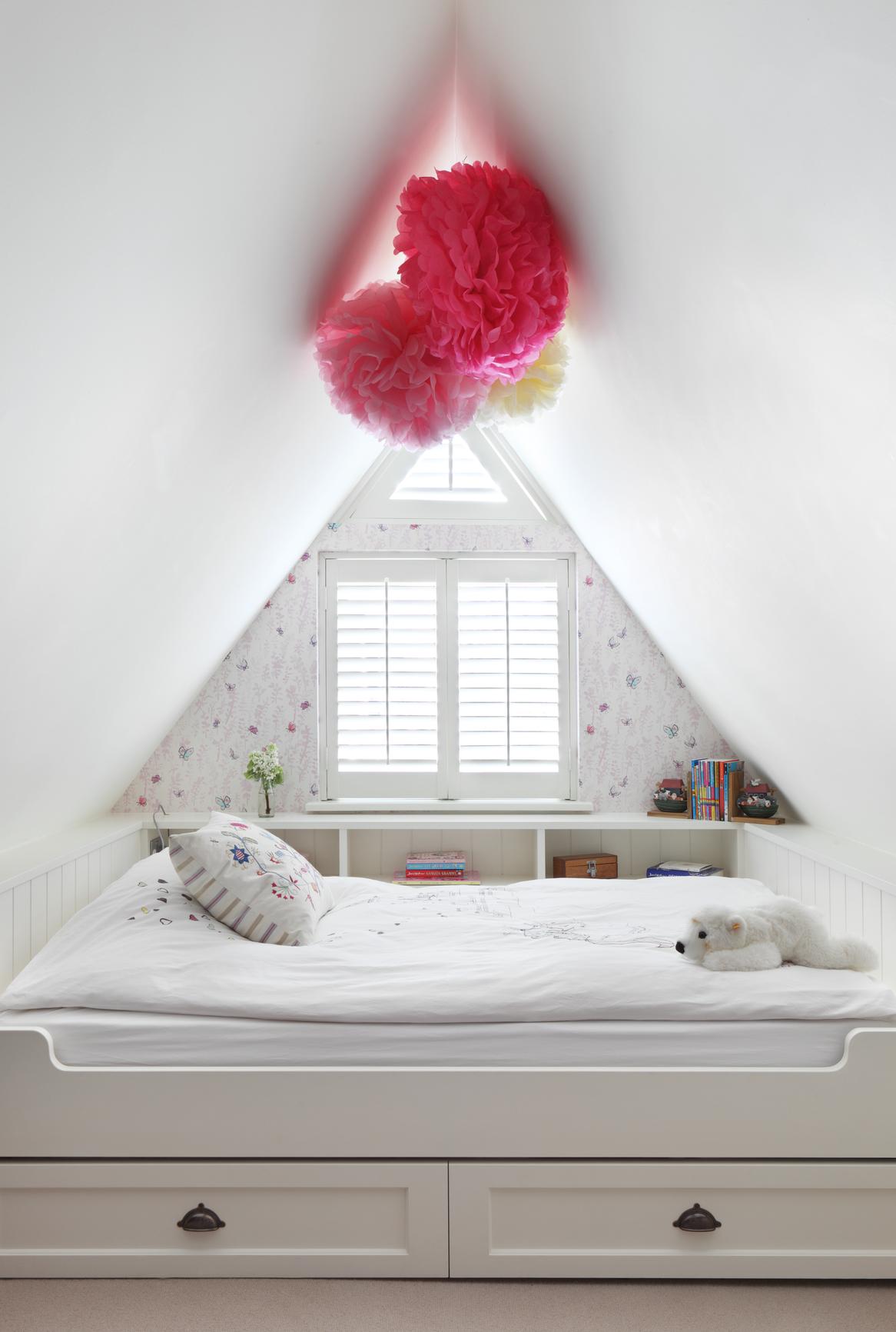 Under eaves bed with pull out truckle bed Interior designer - Turner Pocock
