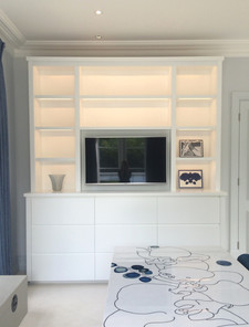 Contemporary bookcase Interior designer - Northwick Design
