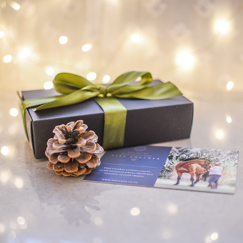 Photo shoot Gift Certificate In Presentation Box