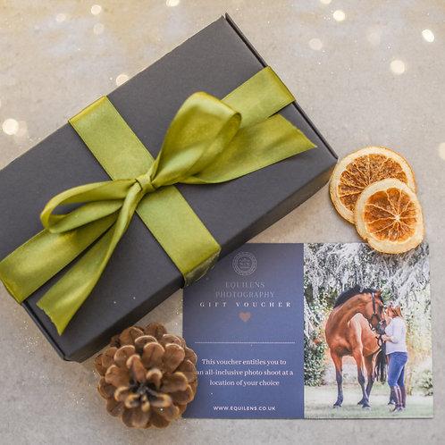 Premium All Inclusive Photo Shoot Gift Certificate In Presentation Box