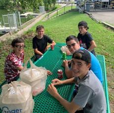 BPC Shine Teens Ice Cream Outing at Shad
