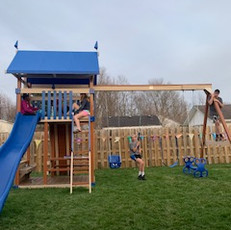 BPC Shine Teens on the playground.Spring