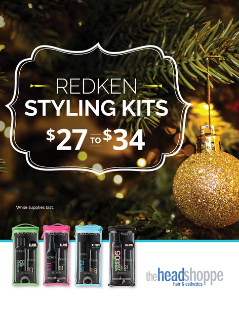 Redken Branded Holiday Campaign