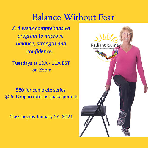 Balance Without Fear Group Class