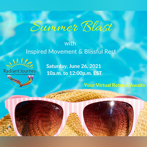 Summer Blast with Inspired Movement & Blissful Rest