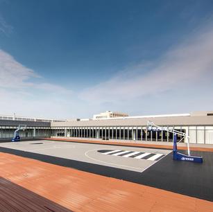 Rooftop Basketball Court