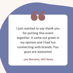 Joe Mariano, HiFi News
