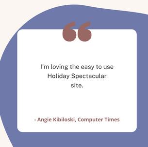 Angie Kibiloski, Computer Times