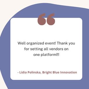 Lidia Polinska, Bright Blue Innovation