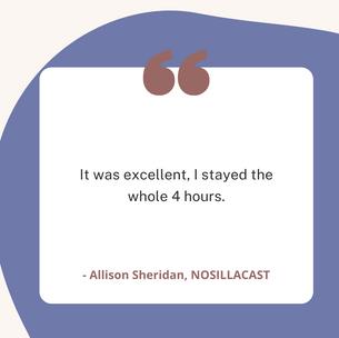 Allison Sheridan, Nosillacast