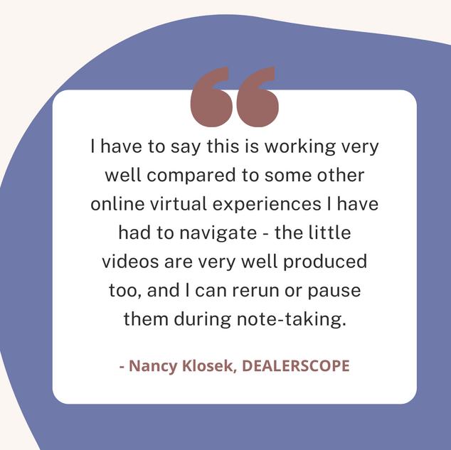Nancy Klosek, Dealerscope