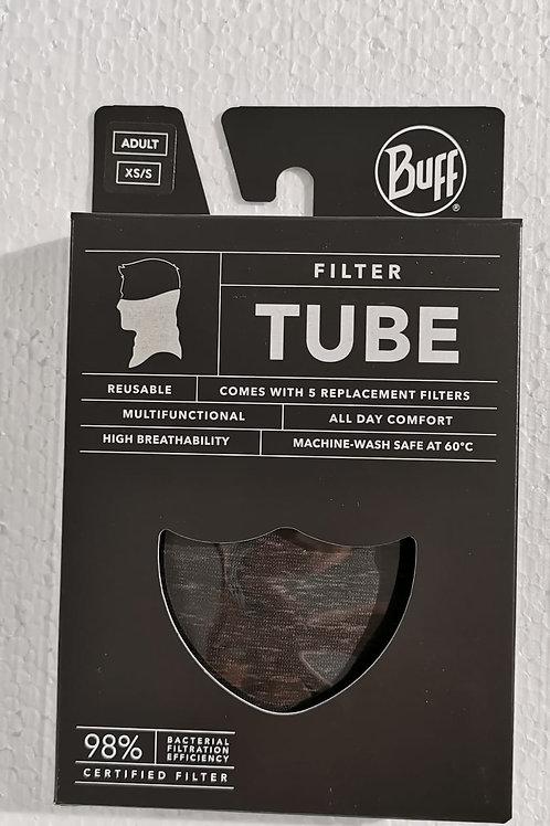 Buff Tube mit 5 Filtern
