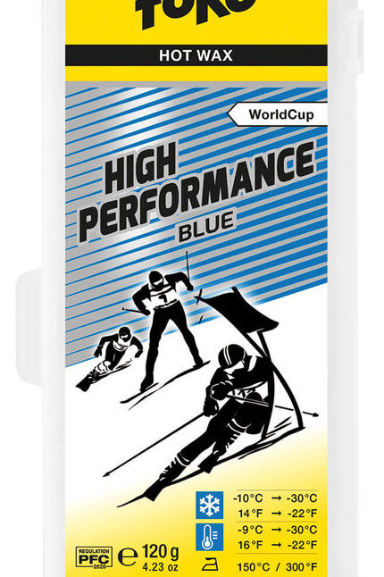 Toko Wax High Performance  blue 40gr