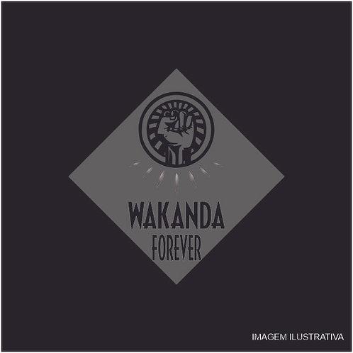 Placa Wakanda Forever