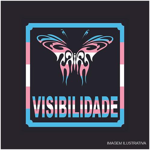 Placa Visibilidade Borboleta Trans