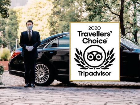Tokyo MK awarded Tripadvisor 2020Travelers'Choice