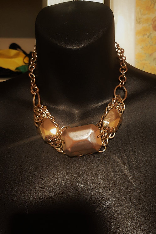 Bold Gold Heavyweight Necklace