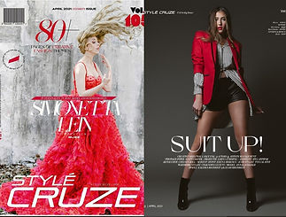 Featured in Style Cruze Magazine