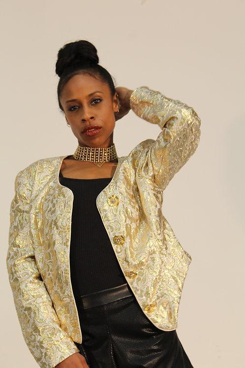 True Gold Baroque Jacket