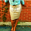 Thumbnail: Metallic Midi Skirt