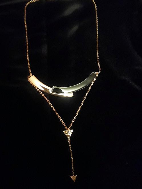 Dual Arrow Diva necklace
