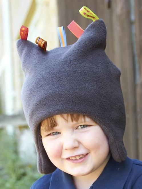 charcoal toggles hat