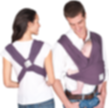 Baby K'tan baby carrier eggplant