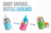 Baby Grows... Bottle Evolves