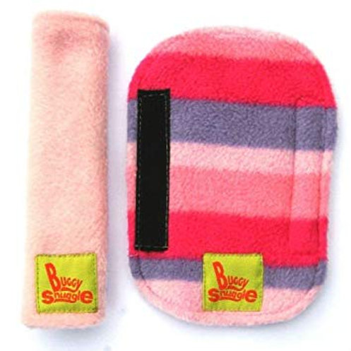 pink stripe strap covers