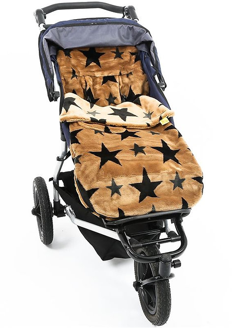 french beige stars fur buggysnuggle