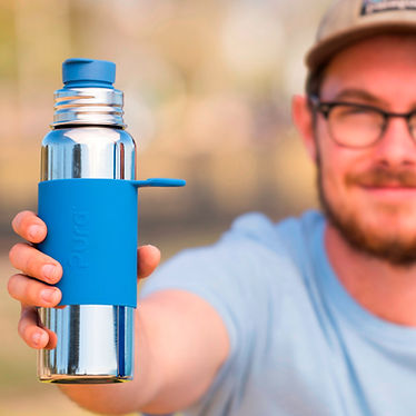 pura stainless uk bottles for life, 100% plastic free