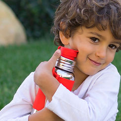 Plastic free infant bottles
