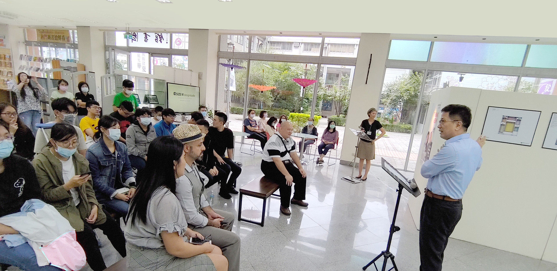 Solo Exhibition, Marco Guariglia, Jui Ju Lin, Size M design studio,Hwa Hsia University of Technology