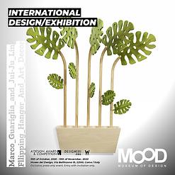 International design exhibition 2020, Marco Guariglia , Mood Museum of Design, A'Design Award, Size M Design Studio