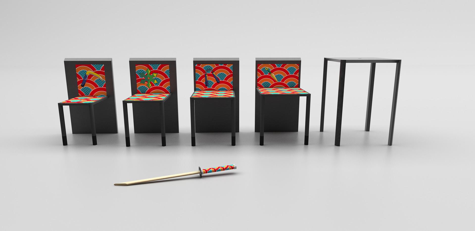 NINJA TABLE, Marco Guariglia Design, Size M design studio.