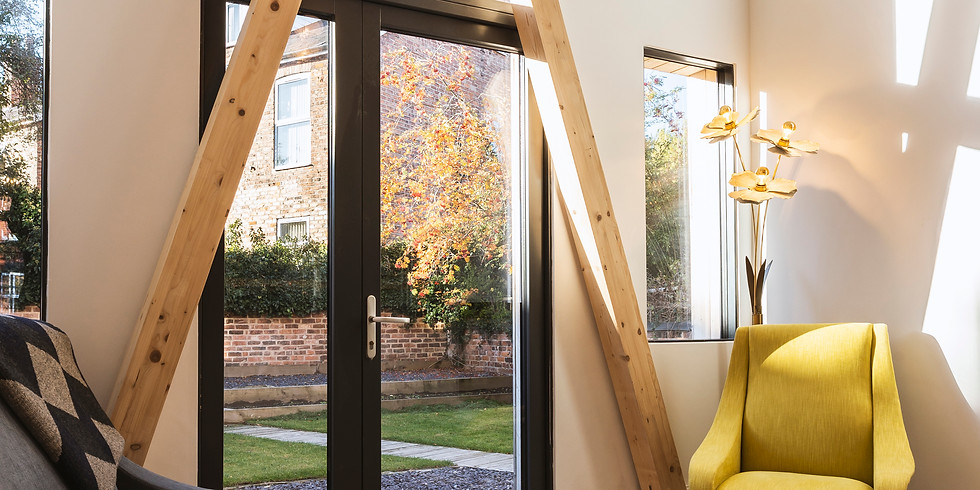 FULLY BOOKED. Architectural CPD: Technical tour of Europe's first EnerPHit Plus Retrofit home
