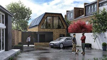 Infill plot Passivhaus Homes