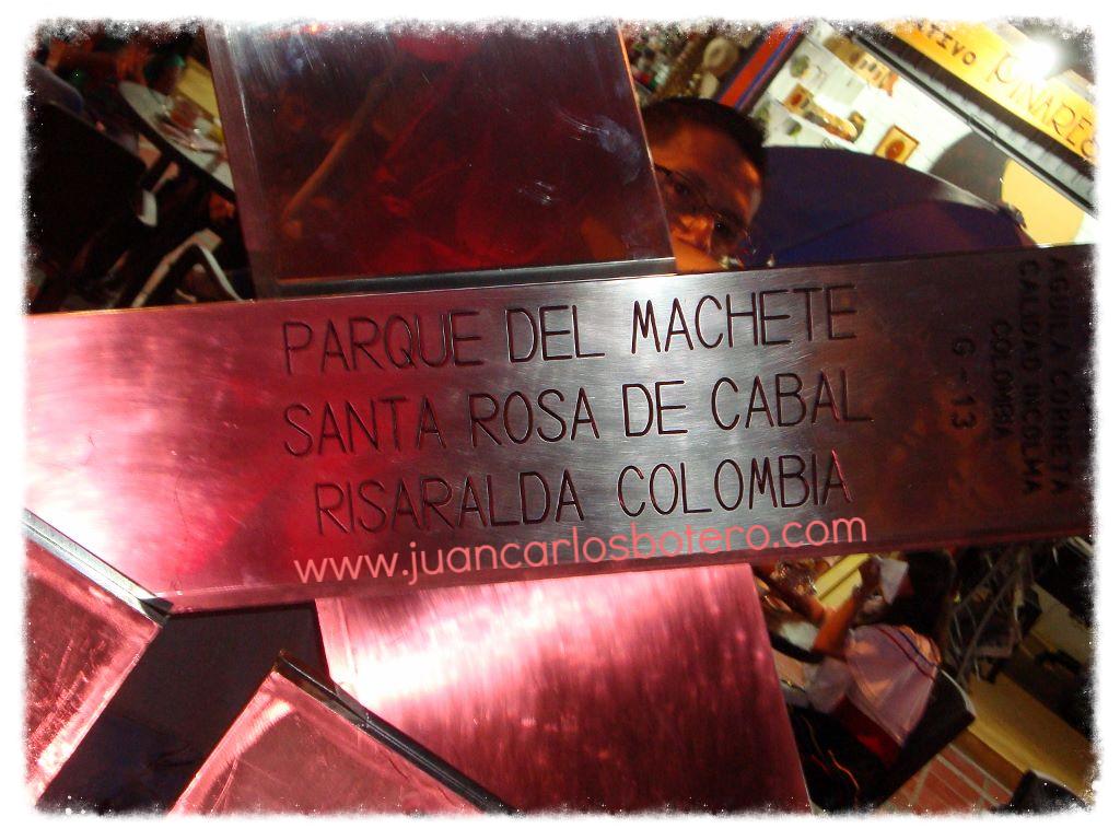 Parque del Machete.