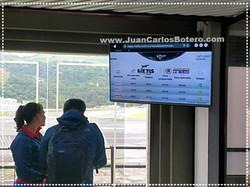 Pantalla Informativa en Aeropuerto