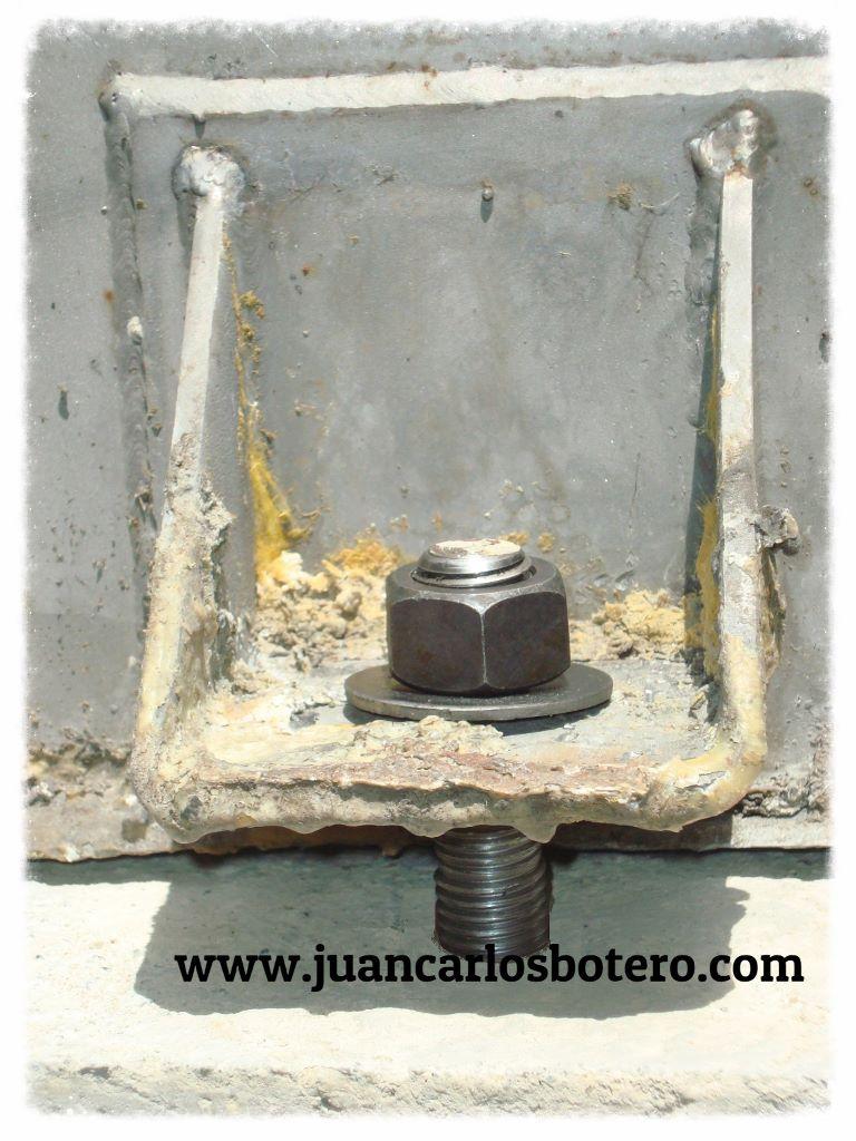 Anclaje Tanque Inox