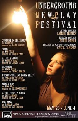theatre festival poster