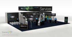Dell EMC Trade Show Booth